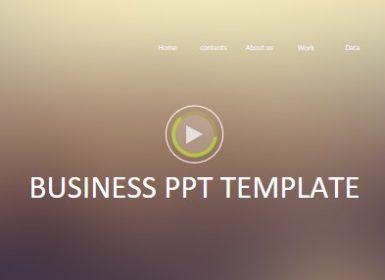 欧美风格商业精品PPT模板